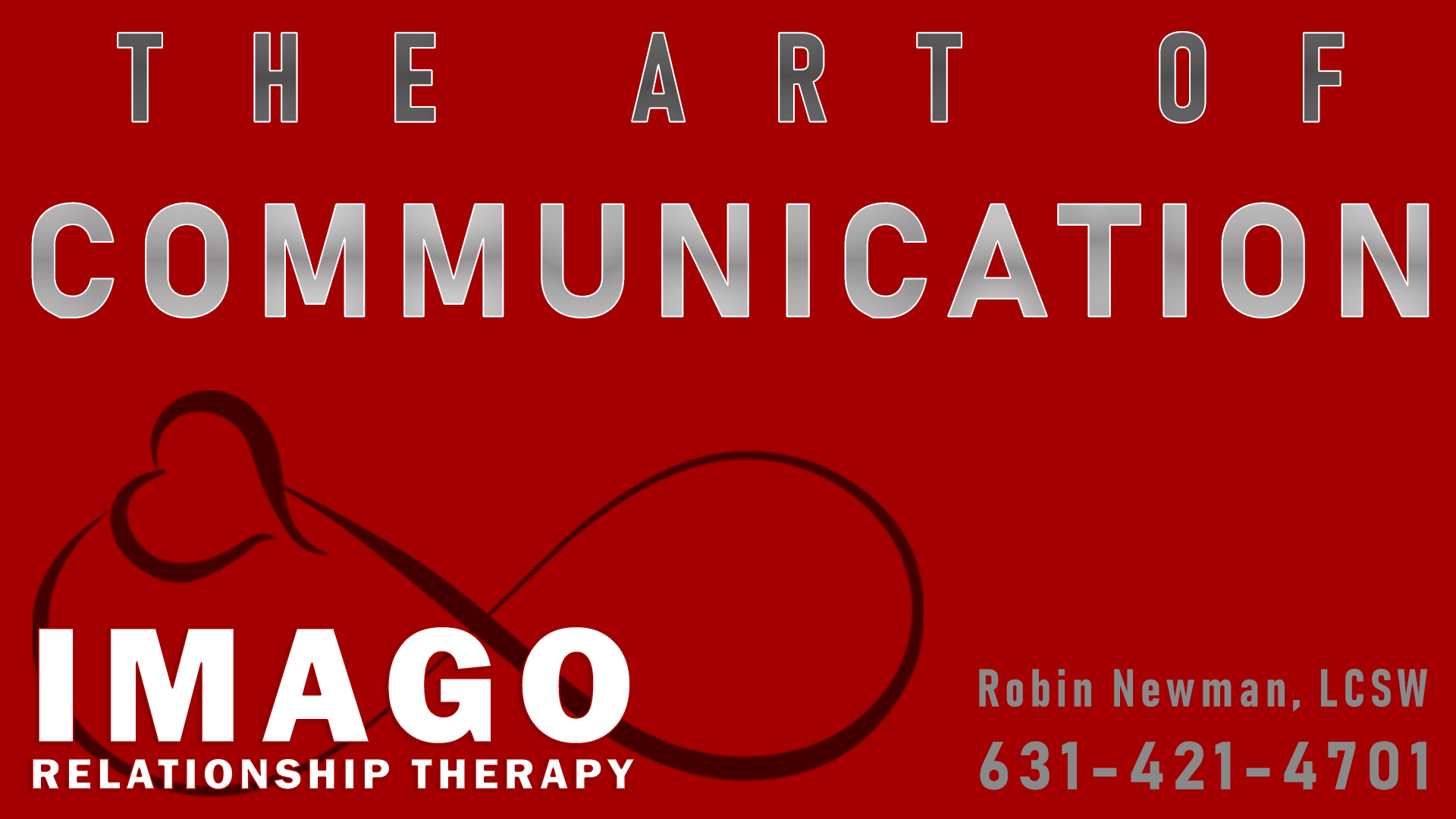 communication process of Imago relationship therapy