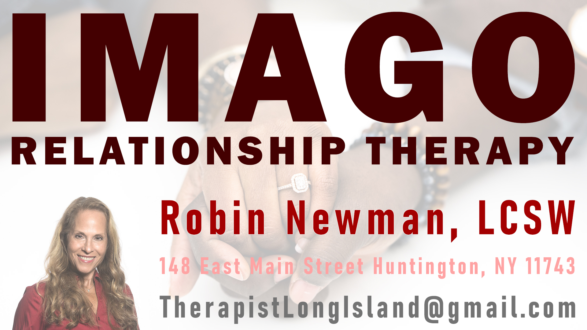 Imago Relationship Therapist Long Island
