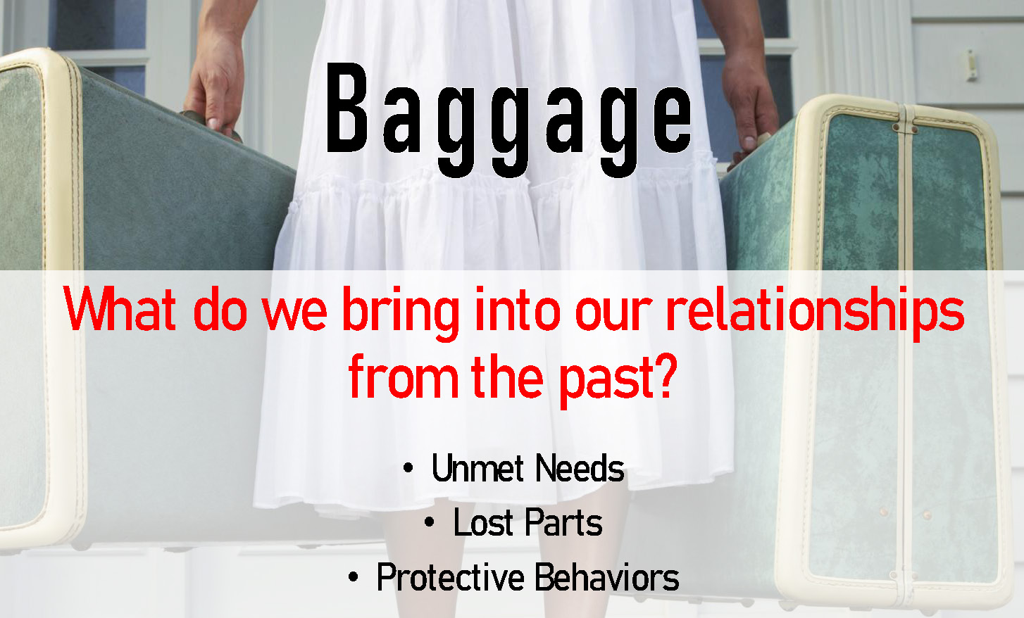 baggage in relationships