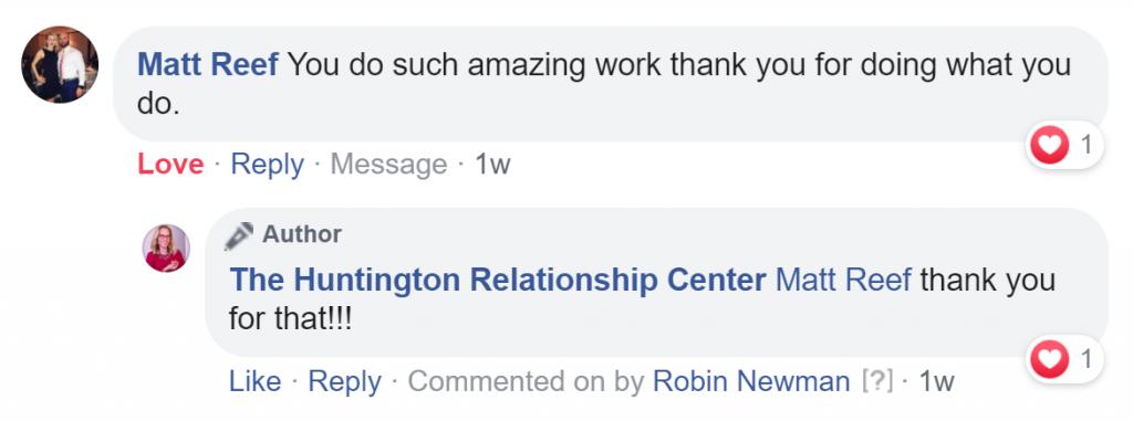 Robin Newman, Long Island social worker testimonials
